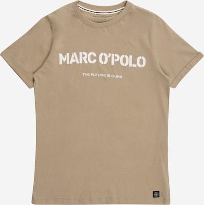 Marc O'Polo Junior Majica u bež siva / bijela, Pregled proizvoda