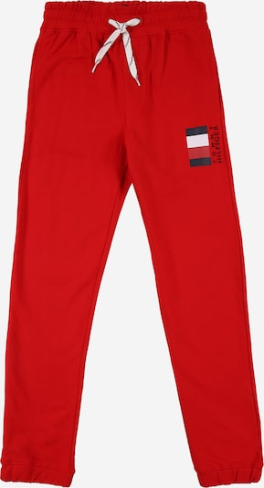 TOMMY HILFIGER Trousers in navy / crimson / white, Item view