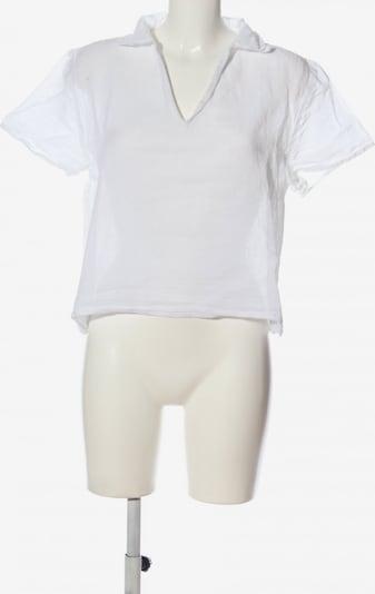 Clothcraft Kurzarm-Bluse in XL in weiß, Produktansicht