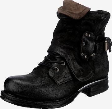 A.S.98 Boots in Schwarz