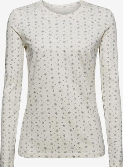 ESPRIT Shirt in blau / offwhite, Produktansicht