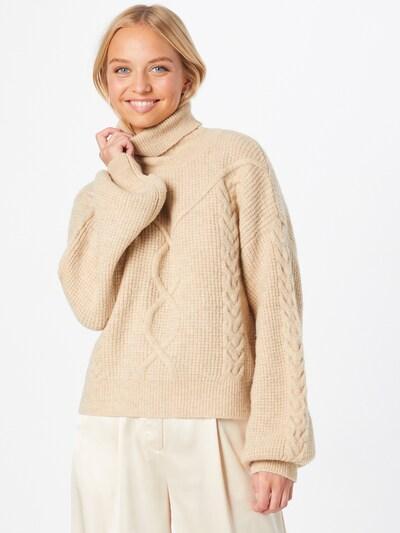 Megztinis 'MAYA' iš Bardot, spalva – smėlio spalva, Modelio vaizdas