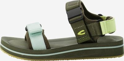 CAMEL ACTIVE Sandalen in hellblau / dunkelgrün, Produktansicht