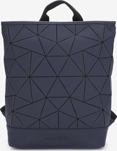 Suri Frey Rucksack in dunkelblau / schwarz, Produktansicht