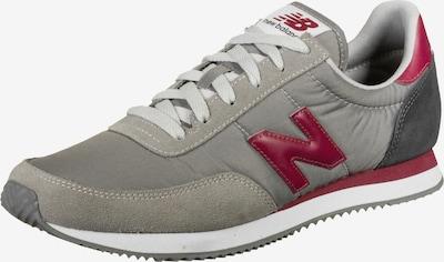 new balance Sneaker in grau / blutrot, Produktansicht