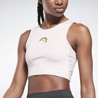 Reebok Sport Blouse 'Pride' in Mixed colors / Pink, View model