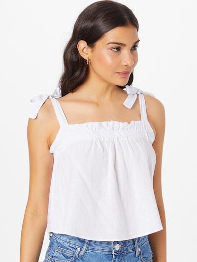 Trendyol Blusa en blanco, Vista del modelo