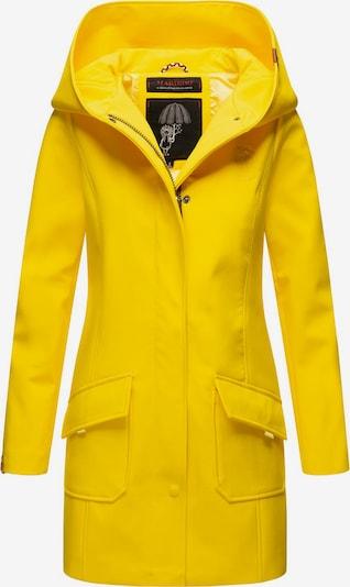 MARIKOO Softshellmantel ' Mayleen ' in gelb, Produktansicht