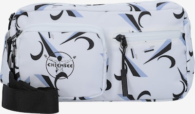 CHIEMSEE Gürteltasche  'Surf  n Turf' in rauchblau / schwarz / weiß, Produktansicht