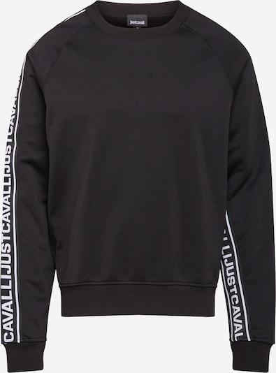 Megztinis be užsegimo iš Just Cavalli , spalva - juoda / balta, Prekių apžvalga