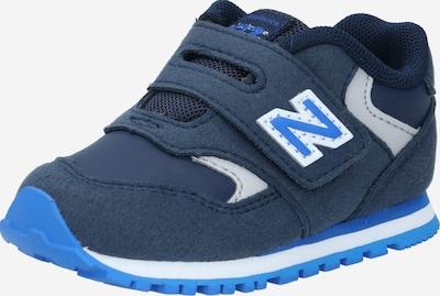 Sportbačiai iš new balance , spalva - tamsiai mėlyna / melsvai pilka / balta, Prekių apžvalga