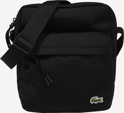 LACOSTE Crossbody bag 'Neocroc' in green / black / white, Item view