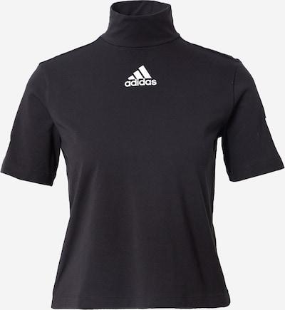 ADIDAS PERFORMANCE T-shirt fonctionnel en bleu / noir / blanc, Vue avec produit