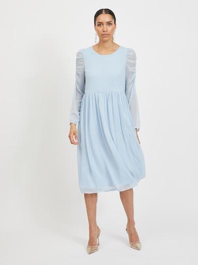 VILA Kleid 'Berin' in hellblau, Modelansicht