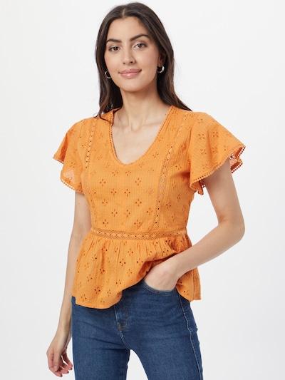 JDY Bluse 'VERA' in orange, Modelansicht