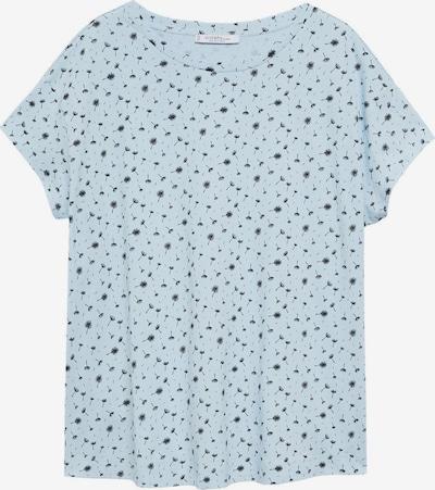 VIOLETA by Mango Shirt 'EASYPRI' in hellblau / schwarz, Produktansicht