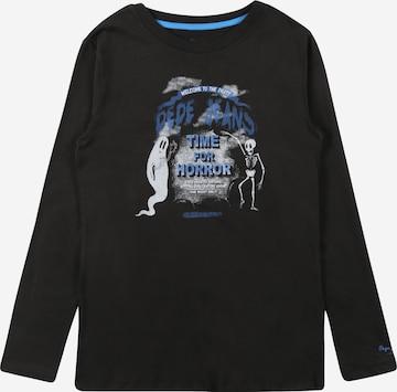 T-Shirt 'LUCAS' Pepe Jeans en noir