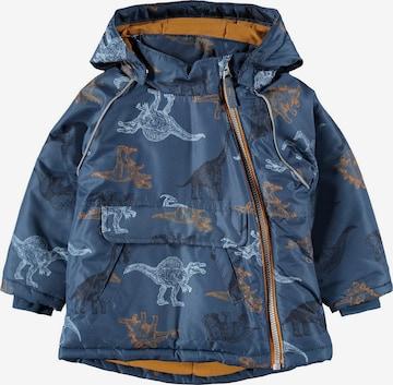 Veste d'hiver 'Micco' NAME IT en bleu
