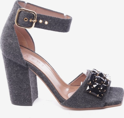 Marni Sandals & High-Heeled Sandals in 39 in Grey, Item view