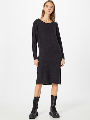 Fransa Gebreide jurk 'CESANDY' in Zwart