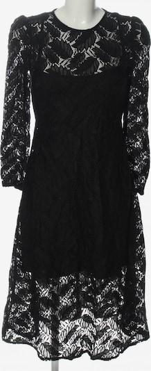 MANGO Spitzenkleid in S in schwarz, Produktansicht