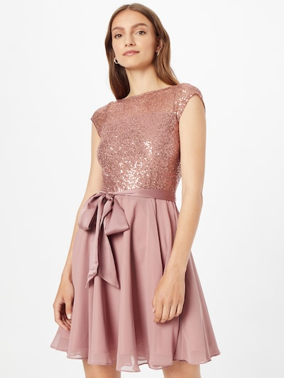 SWING Cocktail Dress in Rose, View model