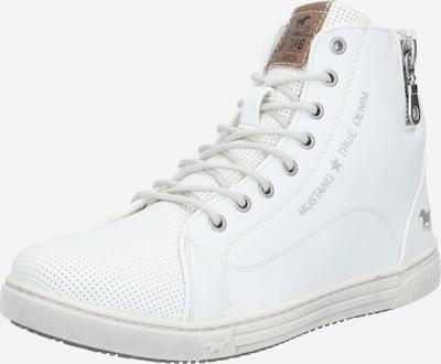Sneaker alta MUSTANG di colore camoscio / bianco naturale, Visualizzazione prodotti