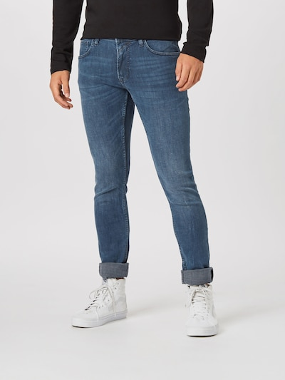 TOM TAILOR DENIM Jeans ' CULVER' i blue denim, Modelvisning