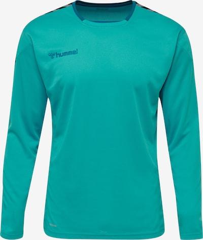Hummel Functioneel shirt in de kleur Blauw, Productweergave