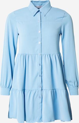 Rochie tip bluză 'NICOLA' de la WAL G. pe albastru