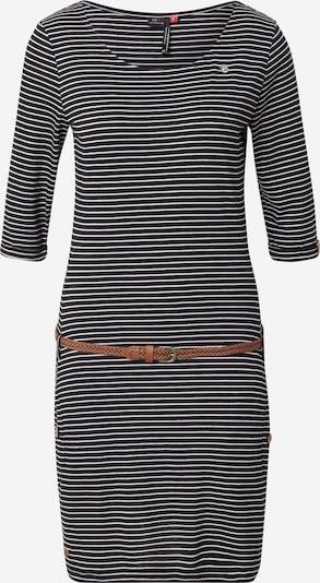 Ragwear Kleid 'TANYA' in schwarz / weiß, Produktansicht