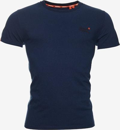 Superdry T-Shirt in dunkelblau / schwarz, Produktansicht