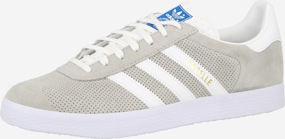 ADIDAS ORIGINALS Låg sneaker i grå / vit: Sedd framifrån