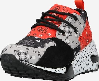 Sneaker low 'CLIF' STEVE MADDEN pe gri / gri metalic / roșu, Vizualizare produs