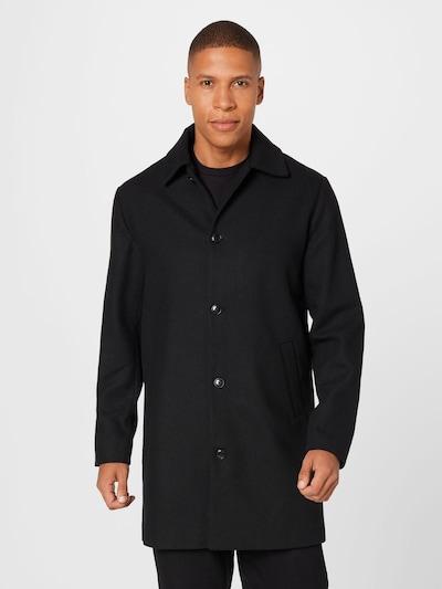 JACK & JONES Mantel in schwarz, Modelansicht