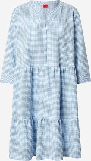 HUGO Košeľové šaty 'Klevia' - modrá / biela, Produkt