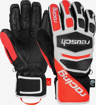 REUSCH Fingerhandschuhe 'Worldcup Warrior SC' in rot / schwarz, Produktansicht