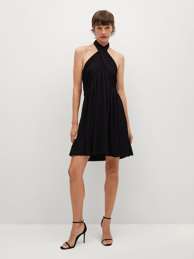 MANGO Kleid 'Vestido' in schwarz, Modelansicht