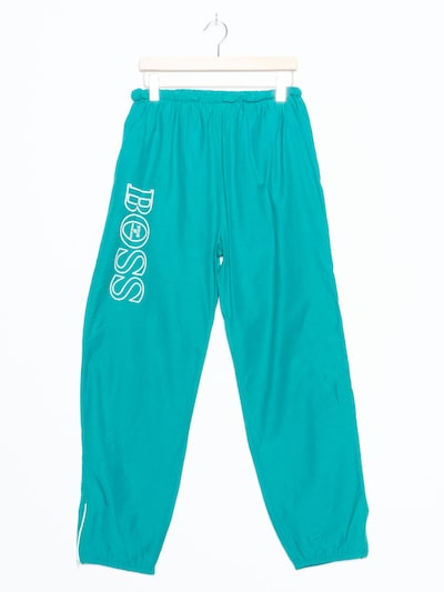 BOSS Casual Trainingshose in XL/31 in smaragd, Produktansicht