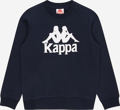 KAPPA Sportsweatshirt 'SERTUM' in schwarz / weiß, Produktansicht