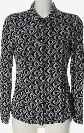 KD Klaus Dilkrath Hemd-Bluse in S in hellgrau / hellorange / schwarz, Produktansicht