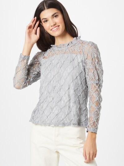 Cream Bluse in grau, Modelansicht