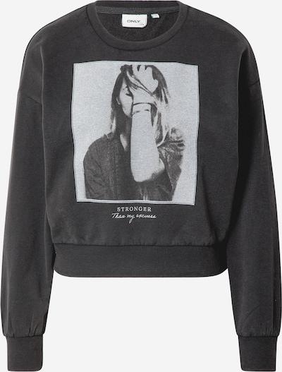 ONLY Sweatshirt 'LUCINDA' in Grey / Dark grey / Black, Item view