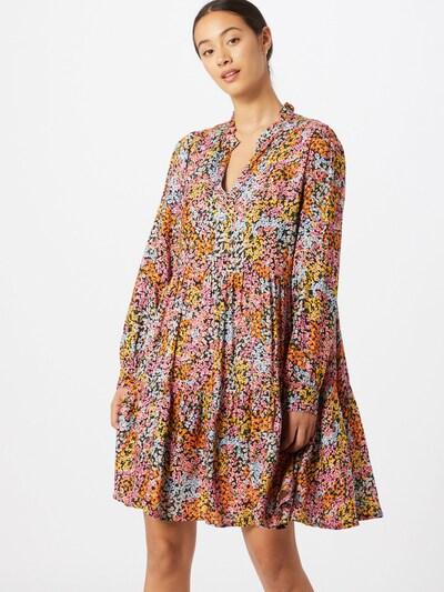 Y.A.S Kleid 'TAPETIA' in nachtblau / gelb / orange / pink / weiß, Modelansicht