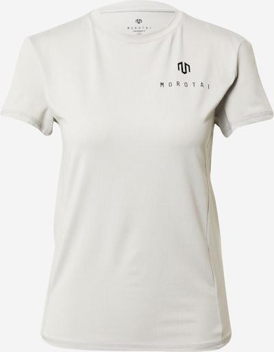MOROTAI T-shirt fonctionnel 'NAKA' en gris clair / noir, Vue avec produit