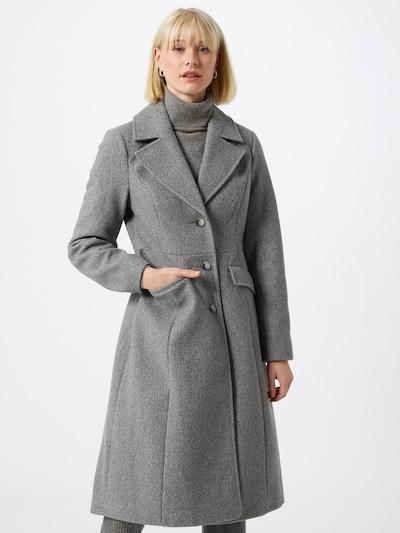 Dorothy Perkins Övergångskappa i gråmelerad, På modell