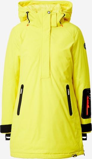 ICEPEAK Veste outdoor en jaune, Vue avec produit