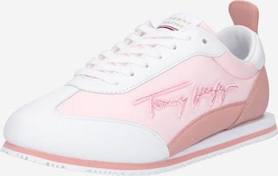 Sneaker bassa 'SIGNATURE RETRO' TOMMY HILFIGER di colore rosé / rosa chiaro / bianco, Visualizzazione prodotti
