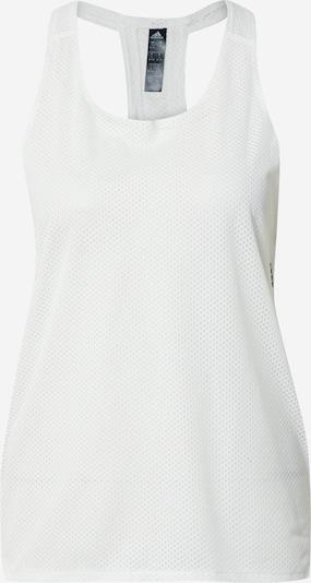 ADIDAS PERFORMANCE Športni top | črna / bela barva, Prikaz izdelka