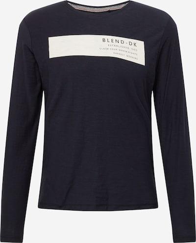 BLEND T-Shirt en noir / blanc, Vue avec produit